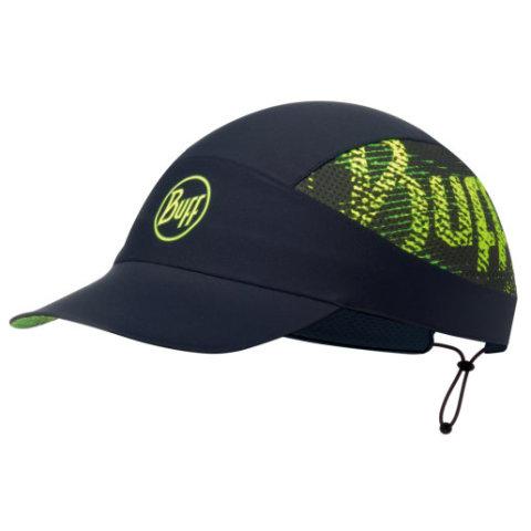 BUFF PACK RUN XL CAP R-FLASH LOGO BLACK