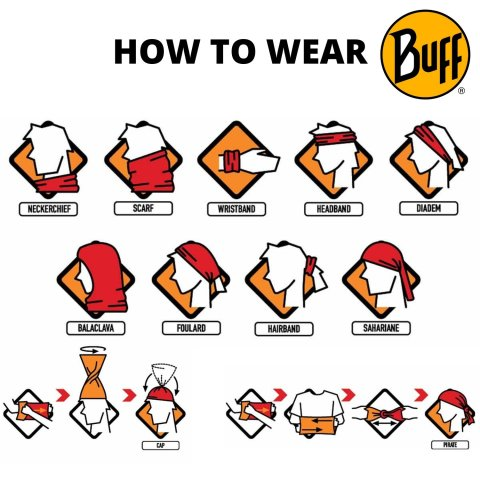 HOW TO WEAR BUFF