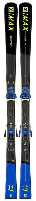 SKI SET E S MAX 12 + Z12 GW F80 Gy Bl Ye