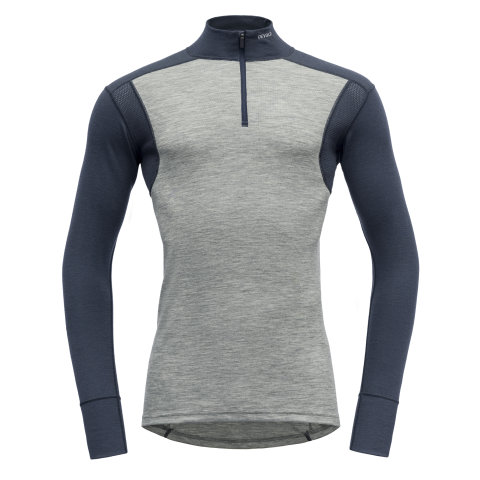 DEVOLD HIKING HALF ZIP GREY 21