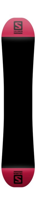 Snowboard Salomon Wild card Black Red