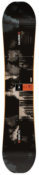 Snowboard Salomon Wild Card Black Orange
