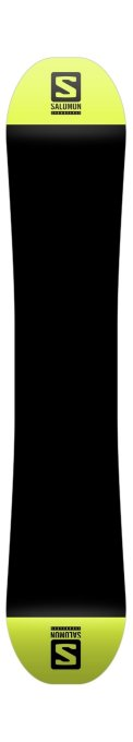 Snowboard Salomon Wild Card Black Yellow