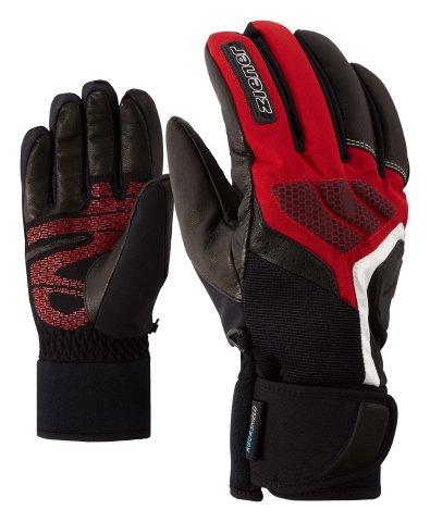 ZIENER GEMAX AS 19 BLK/RED